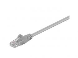 Cablu U/UTP Cat5e gri 0.50m, Goobay