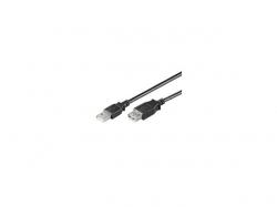Cablu USB 2.0 A tata > A mama 0.3m Goobay; Cod EAN: 4040849686221