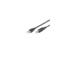 Cablu USB 2.0 A tata - B tata 1.8m Goobay; Cod EAN: 4040849935961