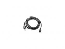 Cablu Gembird, USB 2.0 A male - Micro USB 2.0 B male, 1m, Black, Bulk