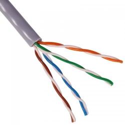Cablu UTP cat5e aluminiu cuprat Chrome, rola 305 metri, pret pe metru