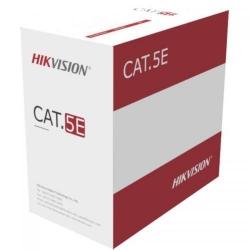 Cablu UTP Hikvision DS-1LN5EU-G/CCA, Cat 5e, Cutie 305m