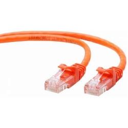 Cablu UTP Patch cord cat. 5E, 1m, Gembird, PP12-1M/O, Orange
