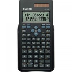 Calculator birou Canon F715SGBK, 16 digiti, alimentare solara