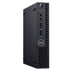 Calculator DELL OptiPlex 3060 Micro, Intel Core i3-8100T, RAM 4GB, SSD 128GB, Intel UHD Graphics 630, Linux