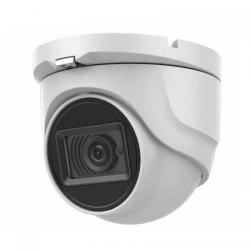 Camera HD Dome Hikvision DS-2CE76H8T-ITMF, 5MP, Lentila 2.8mm, IR 30m