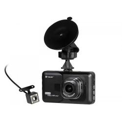 Camera video auto Tracer Mobi Double, Black