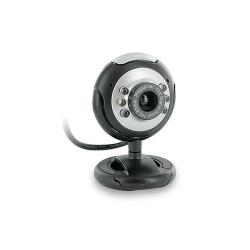 Camera web 4World 07610, 2MP, Black-Silver