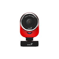 Camera WEB Genius QCam 6000, 2MP, Red-Black