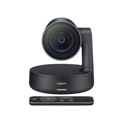 Camera web Logitech Rally ConferenceCam, Ultra HD, Black