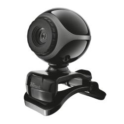 Camera web Trust Exis TR-17003, Black