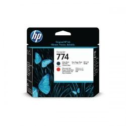 Cap Printare HP 774 MATTE BLK/CH RED - P2V97A