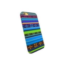 Carcasa de protectie spate din Textil Serioux 02 pentru iPhone 6/6S, Multicolor