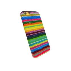 Carcasa de protectie spate din Textil Serioux 05 pentru iPhone 6/6S, Multicolor