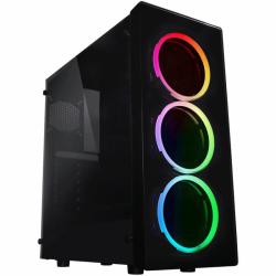 Carcasa RAIDMAX Neon G21 RGB, Fara sursa