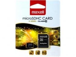 Card memorie 16GB microSDHC Clasa 10 cu adaptor pentru SD