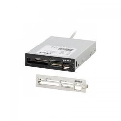 Card Reader Akasa AK-ICR-07, USB 2.0, Black