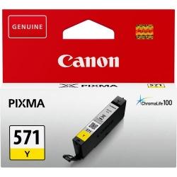 Cartus Cerneala Canon CLI-571Y Yellow - BS0388C001AA