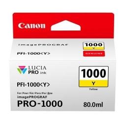 Cartus Cerneala CANON PFI-1000Y PHOTO YELLOW - BS0549C001AA
