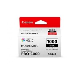 Cartus Cerneala CANON PFI1000MBK  MATTE BLACK - BS0545C001AA