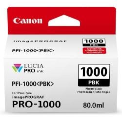 Cartus Cerneala CANON PFI1000PBK PHOTO BLACK - BS0546C001AA