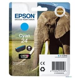 Cartus Cerneala Epson Cyan 24 - C13T24224010