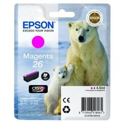 Cartus Cerneala Epson Magenta 26 - C13T26134010