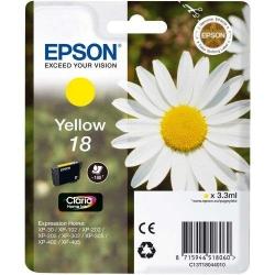 Cartus Cerneala Epson  Yellow 18 - C13T18044010