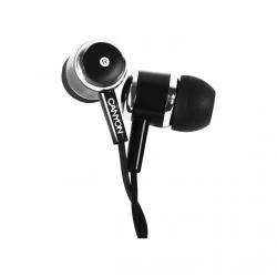 Casti cu microfon Canyon CNE-CEPM01B, Black