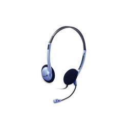 Casti cu microfon Genius HS-02B, Blue