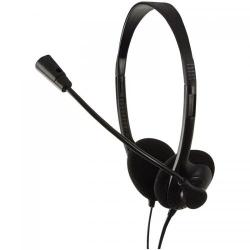 Casti cu microfon Logilink HS0002, Black