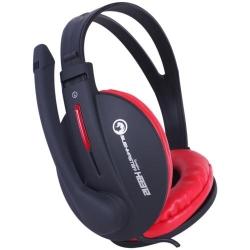 Casti cu microfon Marvo H8312, Black-Red