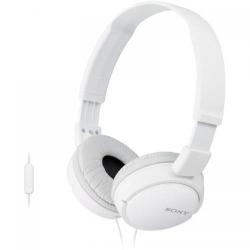 Casti cu microfon Sony MDR-ZX110AP, White