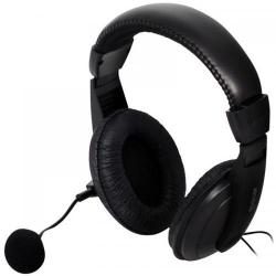 Casti cu microfon Spacer SPK-222, Black