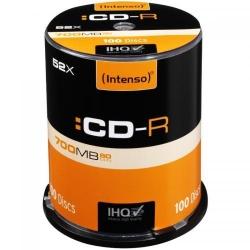 CD-R Intenso [cutie 100 | 700MB | 52x]