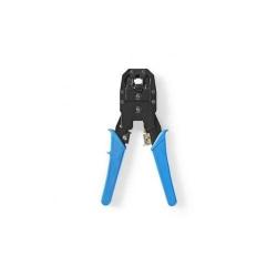 Cleste de sertizare RJ45 / RJ11 albastru Nedis, CCGP89510BU