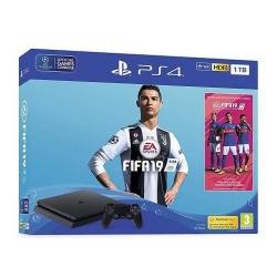 Consola Sony PlayStation 4 Slim 1TB Black + Joc FIFA 19