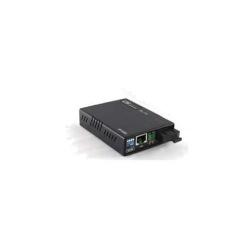 Convertor FE la FO, SM WDM A, 20Km, unmanaged | CTC Union | FMC-10/100W/SC20A