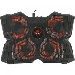 Cooler Pad Trust GXT 278 Yozu, 17.3inch, Black