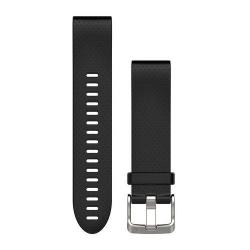 Curea Ceas Garmin QuickFit Fenix 5S Silicon, Black