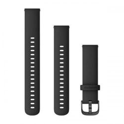 Curea Smartwatch Garmin cu scoatere rapida, 18mm, Black