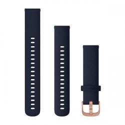Curea Smartwatch Garmin cu scoatere rapida, 18mm, Blue