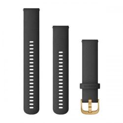 Curea Smartwatch Garmin cu scoatere rapida, 20mm, Black