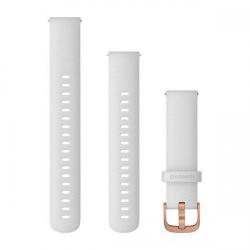 Curea Smartwatch Garmin cu scoatere rapida, 20mm, White