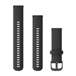 Curea Smartwatch Garmin cu scoatere rapida, 22mm, Black