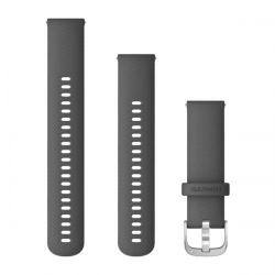 Curea Smartwatch Garmin cu scoatere rapida, 22mm, Grey