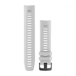 Curea Smartwatch Garmin pentru Ceasuri Garmin Instinct, 22mm, White