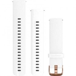 Curea smartwatch Garmin Vivoactive 3, White-Rose