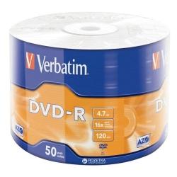 DVD-R Verbatim Data Life, 16x, 4.7GB, 50buc, Shrink