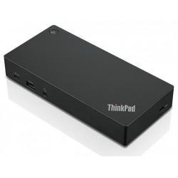 Docking Station Lenovo ThinkPad, USB-C, Black